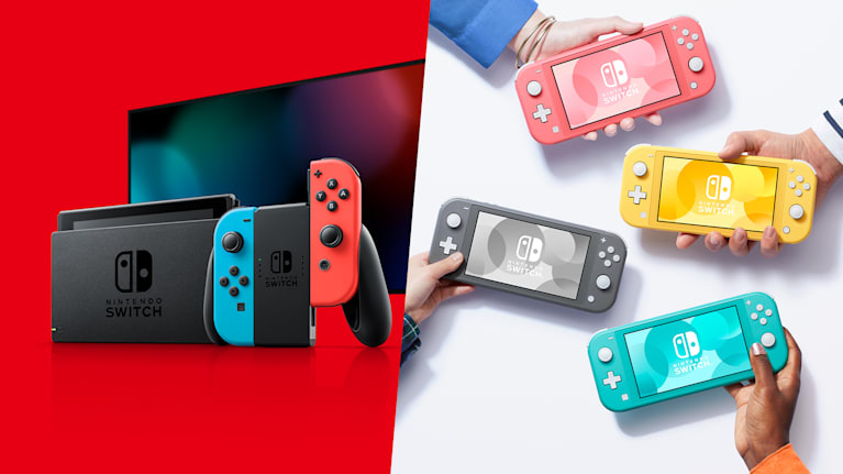 View All Nintendo Switch Consoles