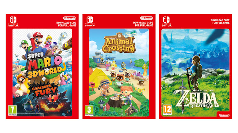 Nintendo Switch Digital Downloads