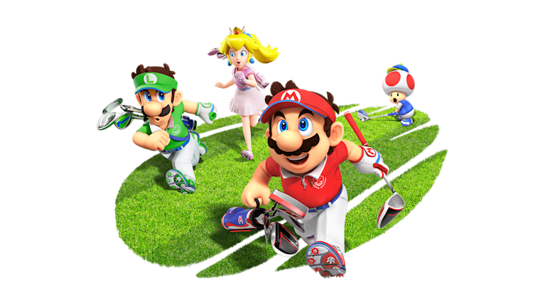 Mario Golf: Super Rush Illustration