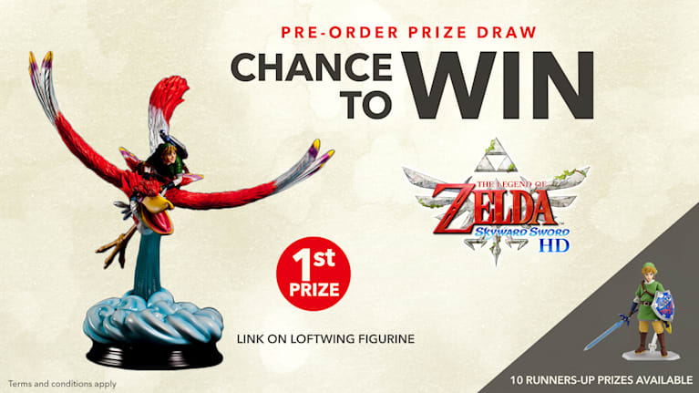 The Legend of Zelda: Skyward Sword HD Pre-Order Prize Draw