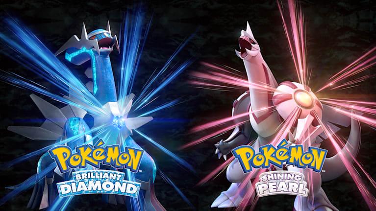 Pokémon Brilliant Diamond and Pokémon Shining Pearl Main Illustration