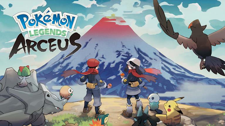 Pokémon Legends: Arceus key art