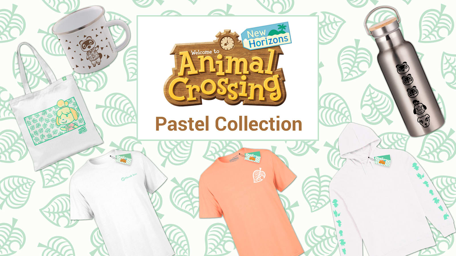Animal Crossing New Horizons Pastel Collection