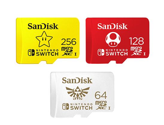 SanDisk microSDXC Cards for Nintendo Switch