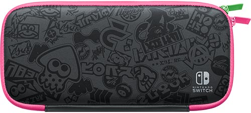 Nintendo Switch Carrying Case (Splatoon 2 Edition) & Screen Protector