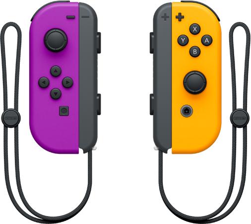 Joy-Con Pair Neon Purple Neon Orange