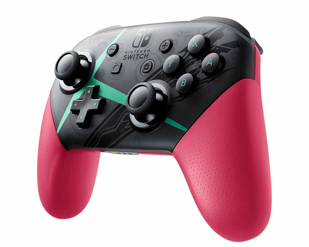 Nintendo Switch Pro Controller Xenoblade Chronicles 2 Edition