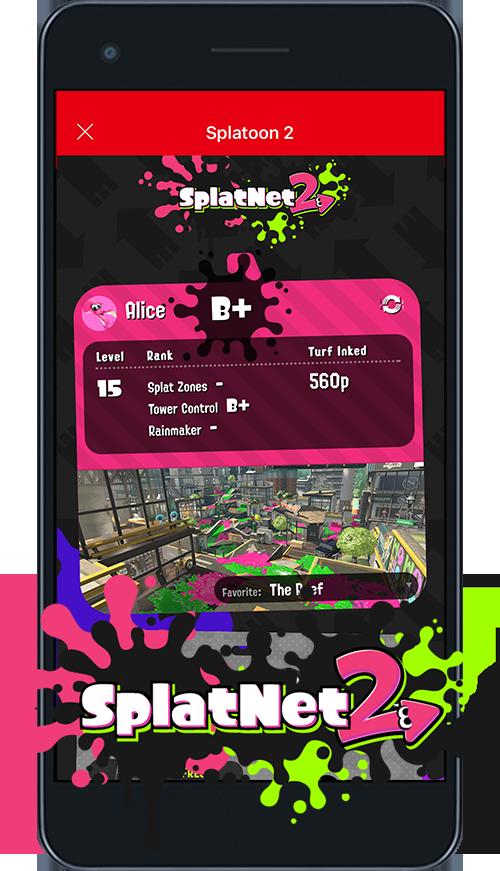 Nintendo Switch Online - SplatNet 2