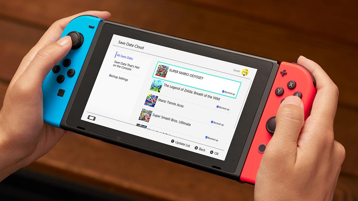 Nintendo Switch Online - Save Data Cloud