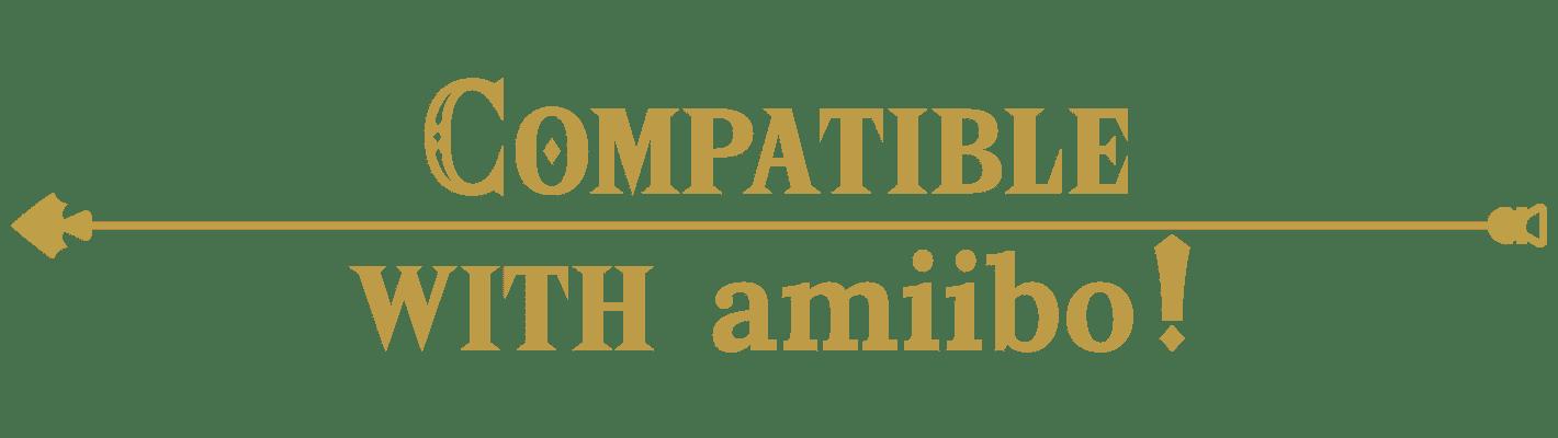 Compatible with amiibo!