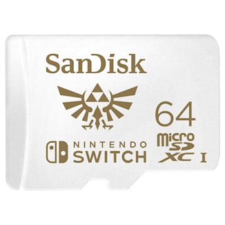 SanDisk microSDXC Card for Nintendo Switch - 64GB