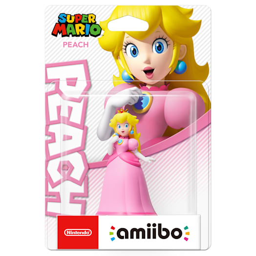 Peach amiibo (Super Mario Collection)