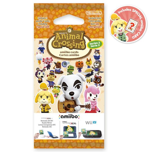 Animal Crossing amiibo Cards Pack - Series 2