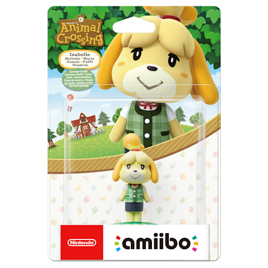 Isabelle (Summer Outfit) amiibo (Animal Crossing Collection) image 2