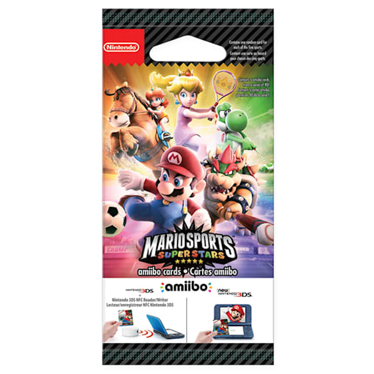 Mario Sports Superstars amiibo Cards Pack