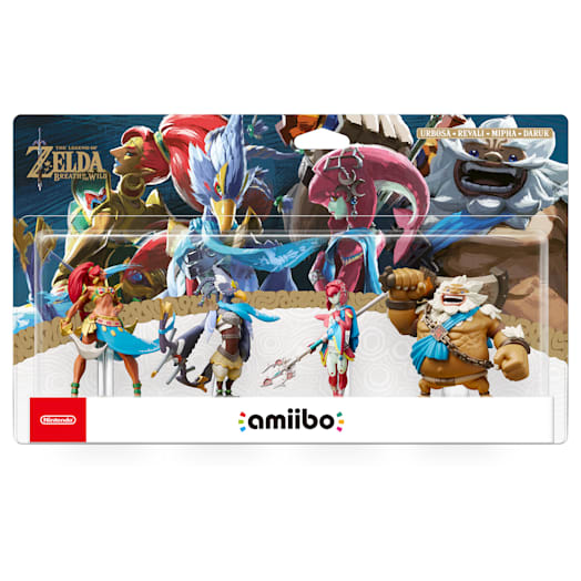 The Champions amiibo Set (The Legend of Zelda: Breath of the Wild Collection) image 2