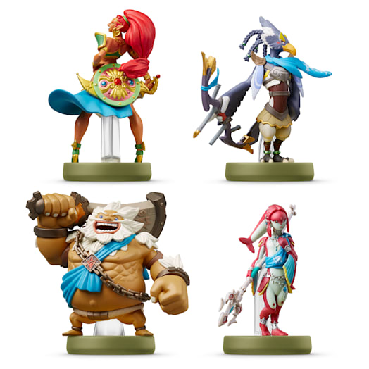 The Champions amiibo Set (The Legend of Zelda: Breath of the Wild Collection) image 1