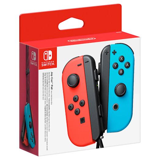 Nintendo Switch Neon Red Joy-Con (L) and Neon Blue Joy-Con (R) Controller Set