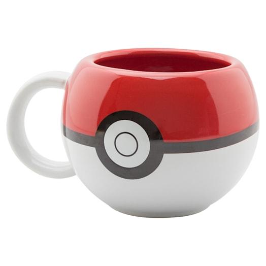 Pokémon Poké Ball 3D Mug