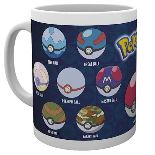 Pokémon Poké Ball Varieties Mug