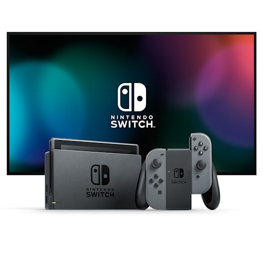 Nintendo Switch (Grey) Super Mario Odyssey Pack image 3