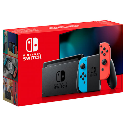Nintendo Switch (Neon Blue/Neon Red) Animal Crossing: New Horizons Pack image 13