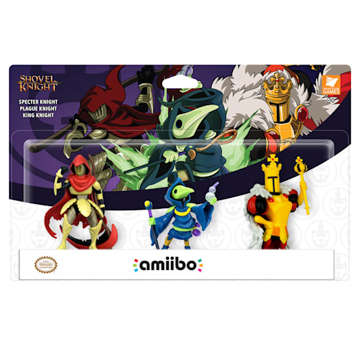 Shovel Knight Triple Pack amiibo: Specter Knight, Plague Knight and King Knight (Shovel Knight Collection) image 2