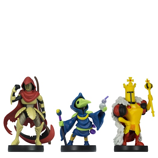 Shovel Knight Triple Pack amiibo: Specter Knight, Plague Knight and King Knight (Shovel Knight Collection) image 1