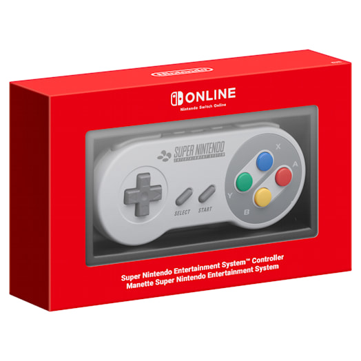 Super Nintendo Entertainment System Controller for Nintendo Switch