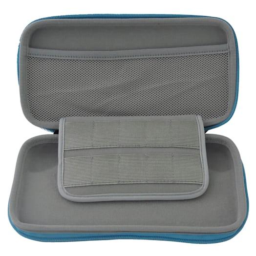 Nintendo Switch Lite Hard Pouch (Blue/Grey) image 2