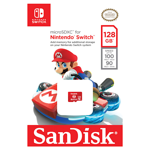 SanDisk microSDXC Card for Nintendo Switch - 128GB image 2