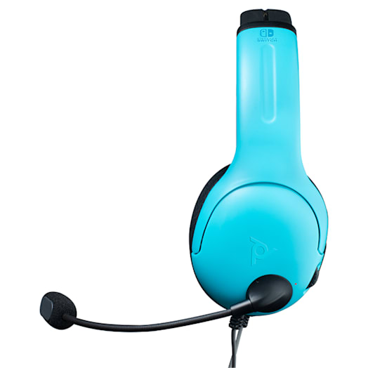 Nintendo Switch Gaming Headphones (Wired) - Neon Blue / Neon Red image 2