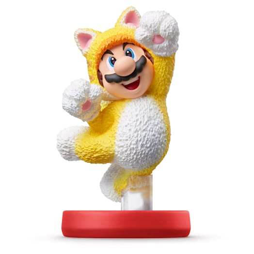 Cat Mario and Cat Peach Double Pack amiibo (Super Mario Collection) image 3