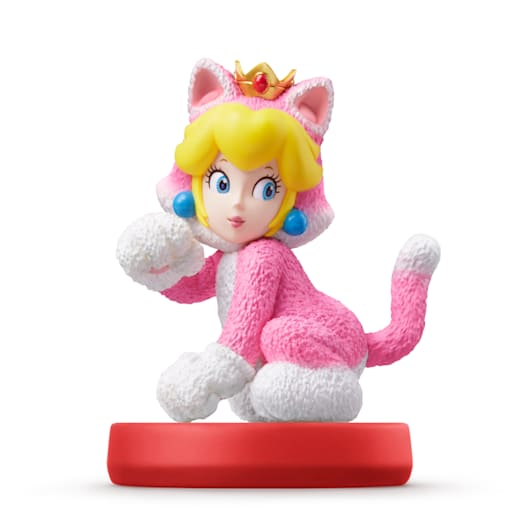 Cat Mario and Cat Peach Double Pack amiibo (Super Mario Collection) image 4