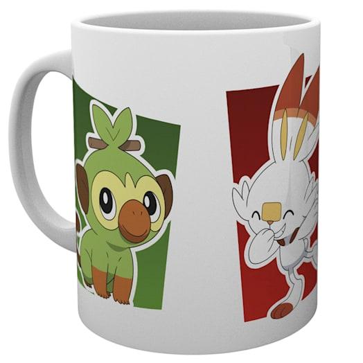 Pokémon Galar Starter Mug