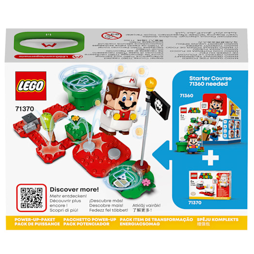 LEGO Super Mario Fire Mario Power-Up Pack (71370) image 3