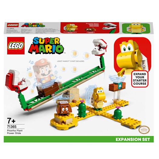LEGO Super Mario Piranha Plant Power Slide Expansion Set (71365) image 2