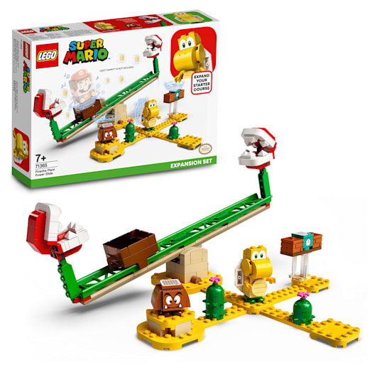 LEGO Super Mario Piranha Plant Power Slide Expansion Set (71365)