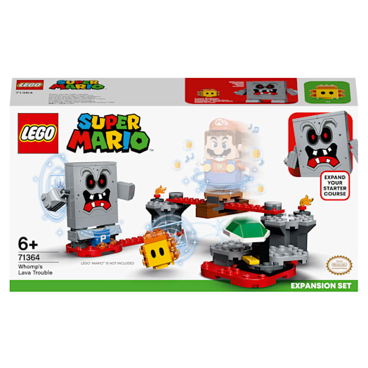 LEGO Super Mario Whomp's Lava Trouble Expansion Set (71364)