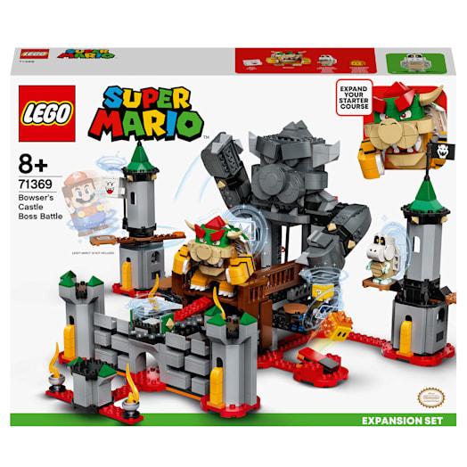 LEGO Super Mario Bowser's Castle Boss Battle Expansion Set (71369) image 2