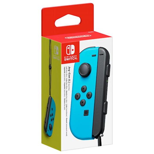 Nintendo Switch Neon Blue Joy-Con Controller (L)
