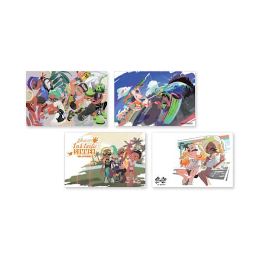 Splatoon 2 Summer Postcard Set image 3