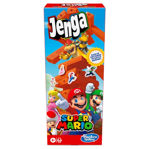 Jenga - Super Mario Edition