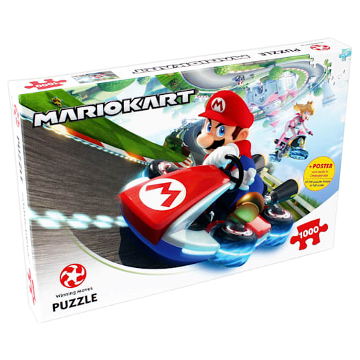 Mario Kart Jigsaw (1000 Pieces)