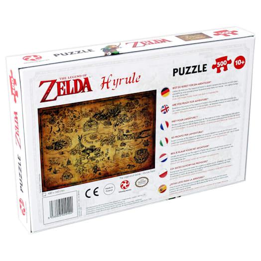 The Legend of Zelda - Hyrule Jigsaw (500 Pieces) image 2