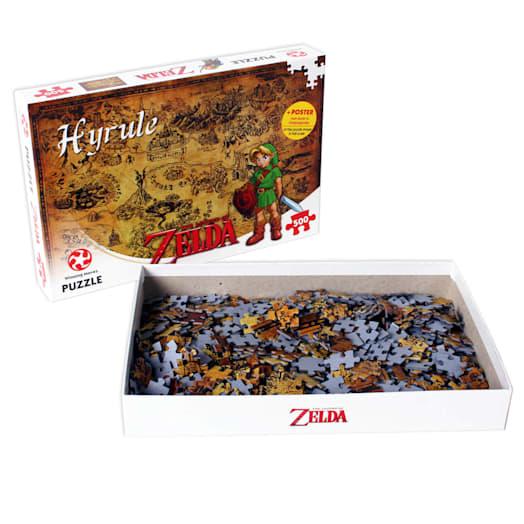 The Legend of Zelda - Hyrule Jigsaw (500 Pieces) image 4