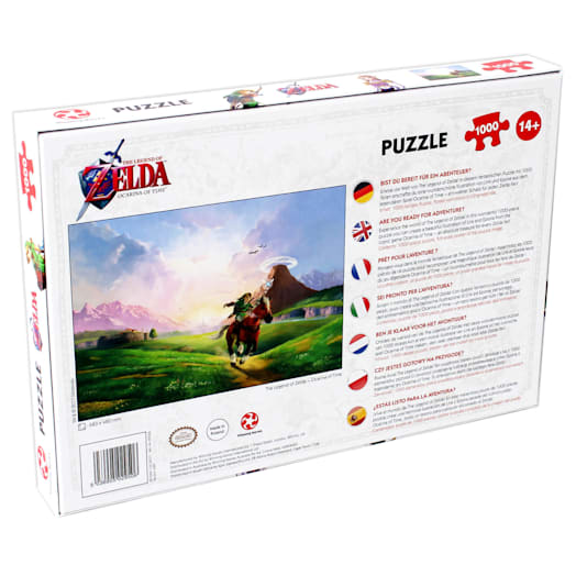 The Legend of Zelda - Ocarina of Time Jigsaw (1000 Pieces) image 2