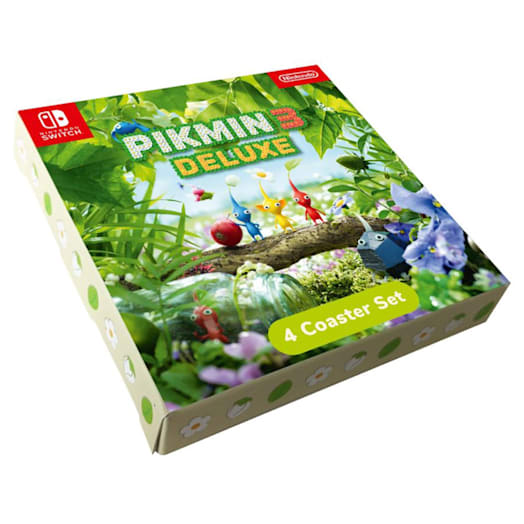 Pikmin 3 Deluxe Coaster Set