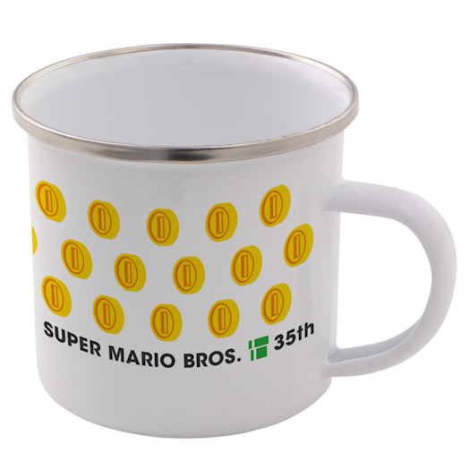 Cat Mario Enamel Mug - Super Mario Bros. 35th Anniversary image 2