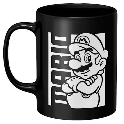 Mario Black Mug - Super Mario Bros. 35th Anniversary